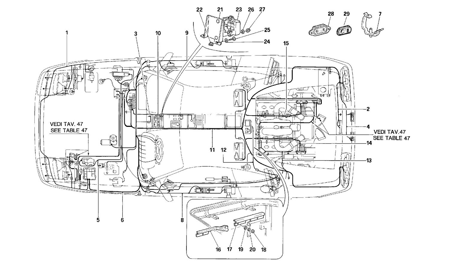 ELECTRICAL SYSTEM -Not for USA and CDN-