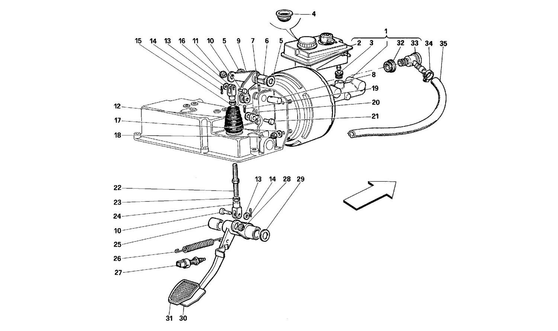 Brake hydraulic system -Valid for GD-