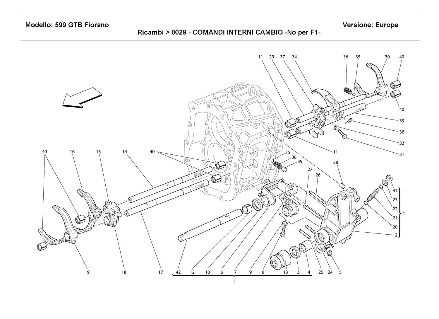 INSIDE GEARBOX CONTROLS -Not for F1 -