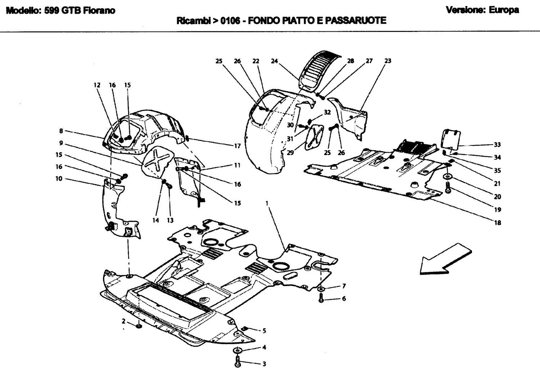 FLAT FLOOR PAN AND WHEELHOUSES