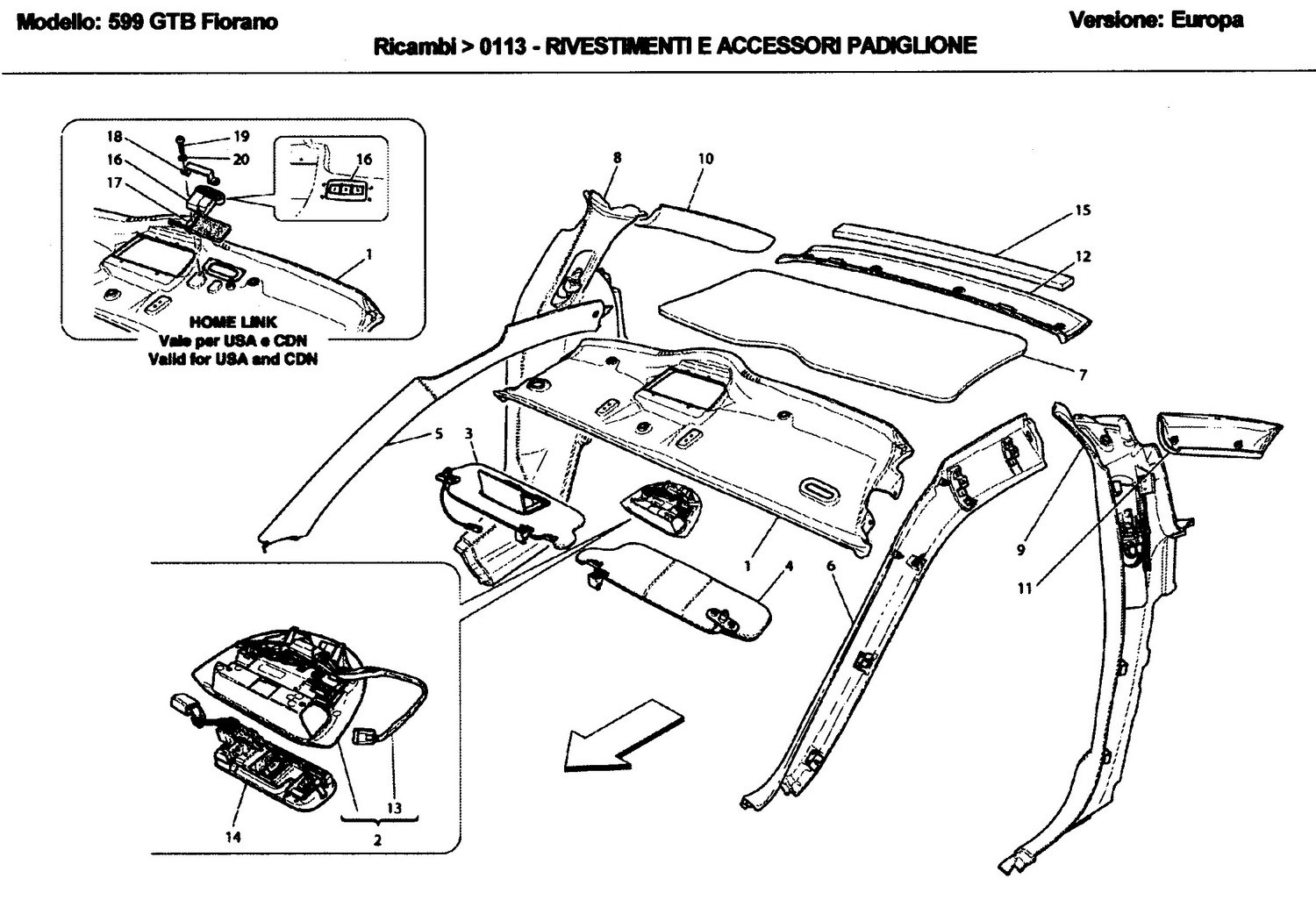 ROOF PANEL UPHOLSTERY AND ACCESSORIES