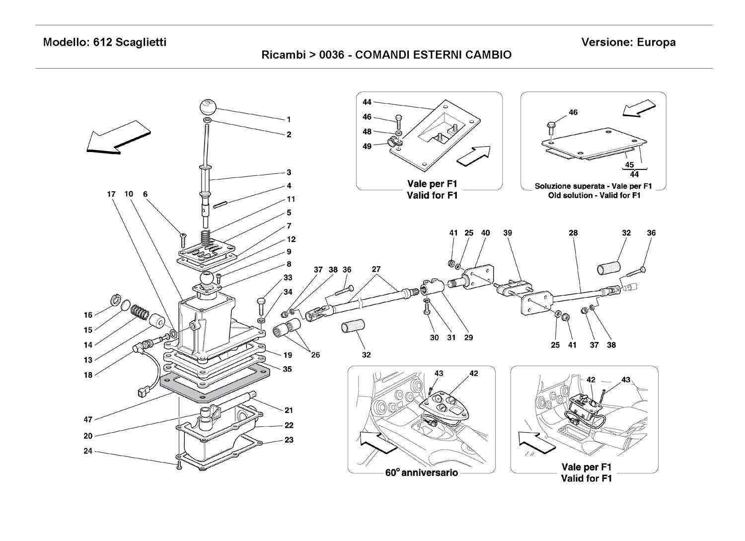OUTSIDE GEARBOX CONTROLS