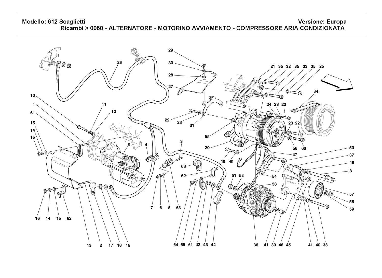 ALTERNATOR-STARTING MOTOR - AIR CONDITIONING COMPRESSOR