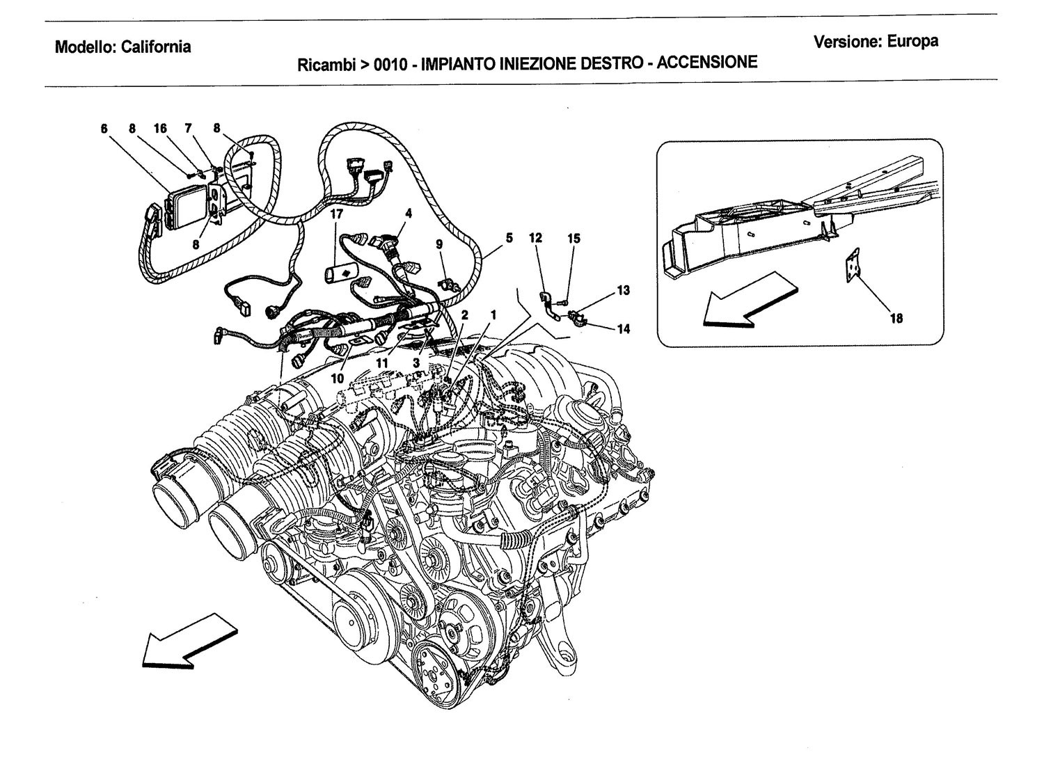 RIGHT HAND INJECTION SYSTEM - IGNITION