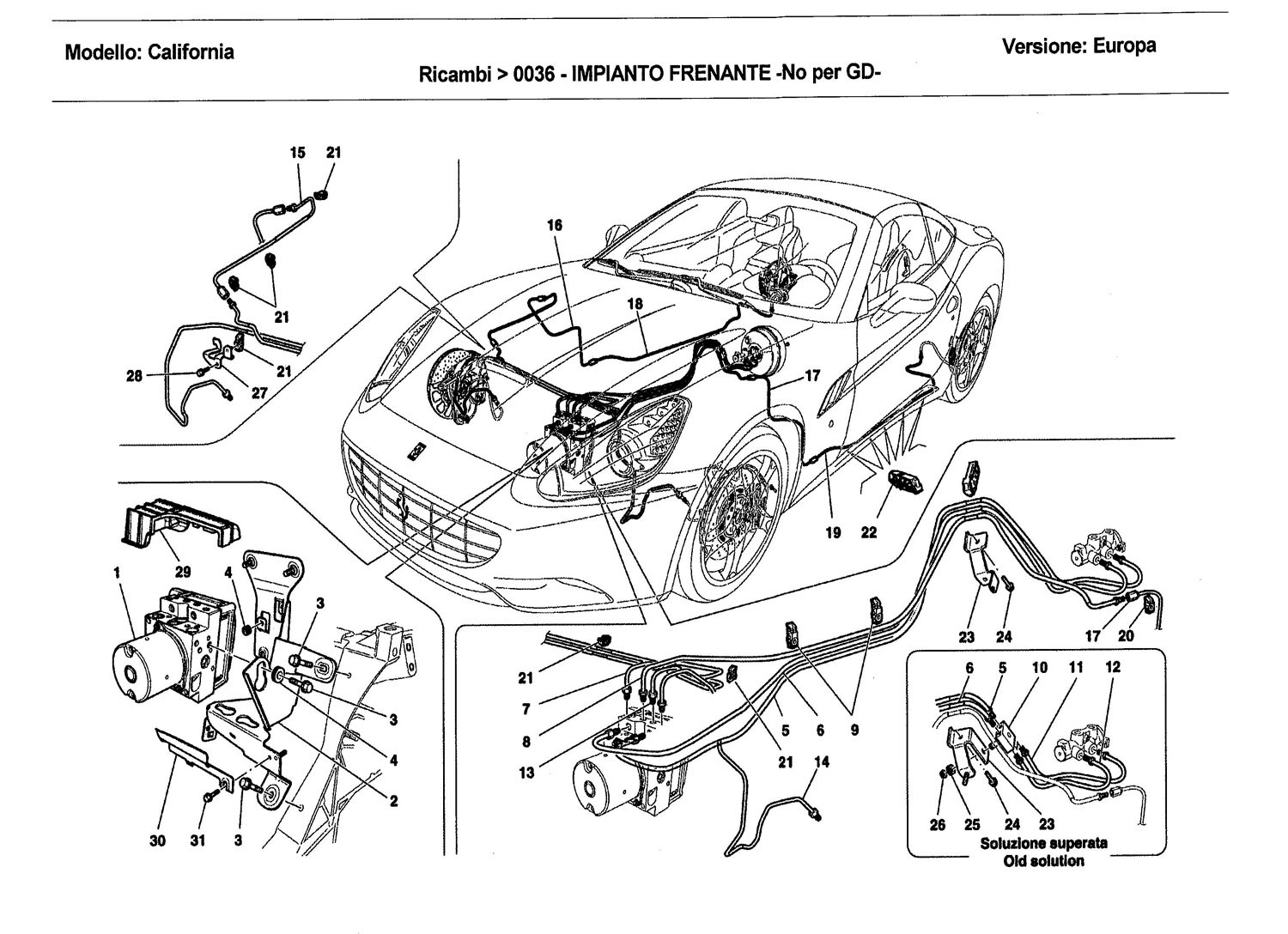 BRAKE SYSTEM -Not applicable for GD-