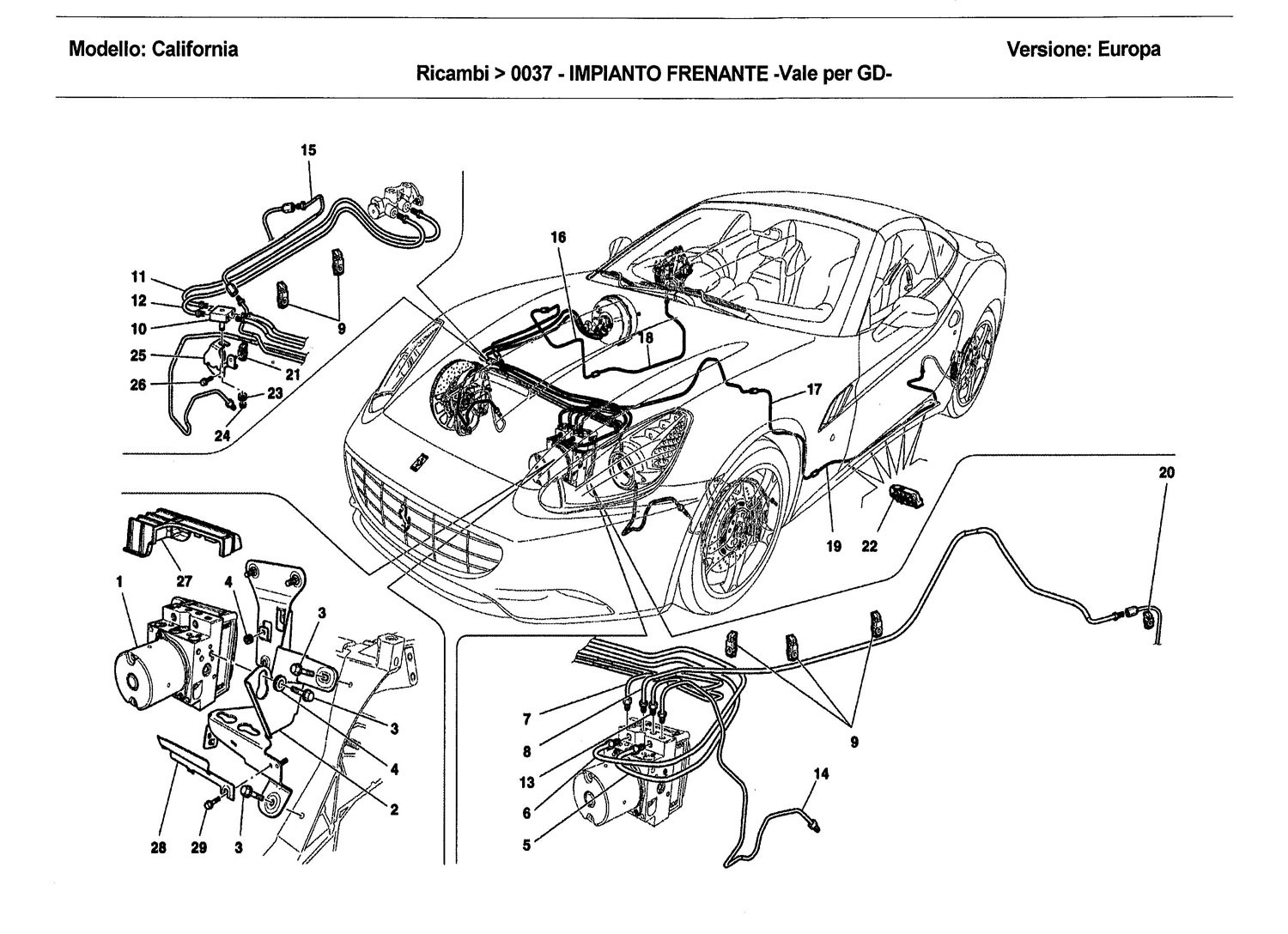 BRAKE SYSTEM -Applicable for GD-
