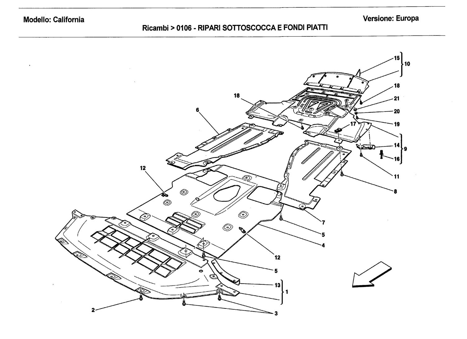 UNDERBODY SHIELDS AND FLAT UNDERTRAY SECTIONS
