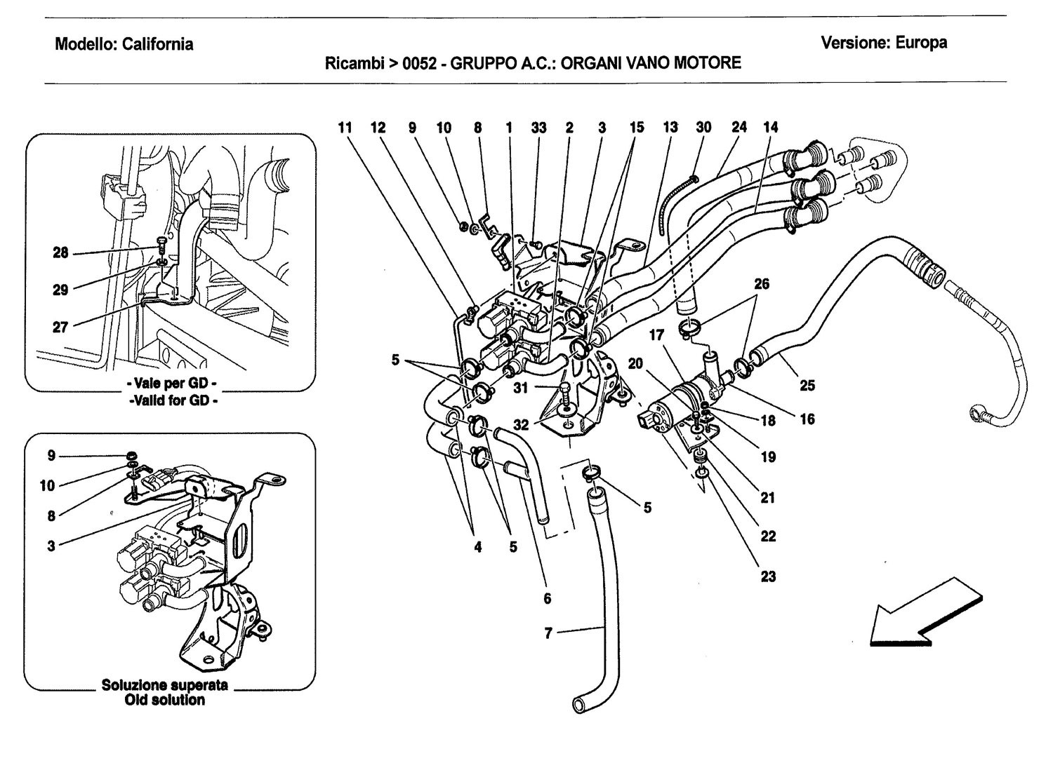 AC UNIT: COMPONENTS IN ENGINE COMPARTMENT-2