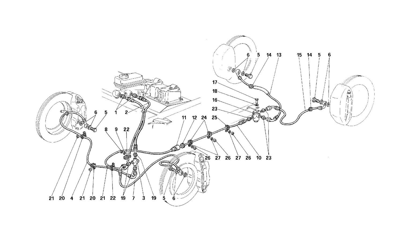 Brake system -Not for USA-