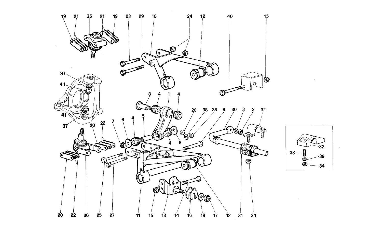 Front suspension - Levers