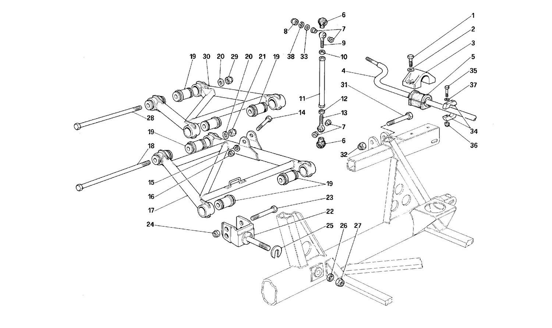 Rear suspension - Levers
