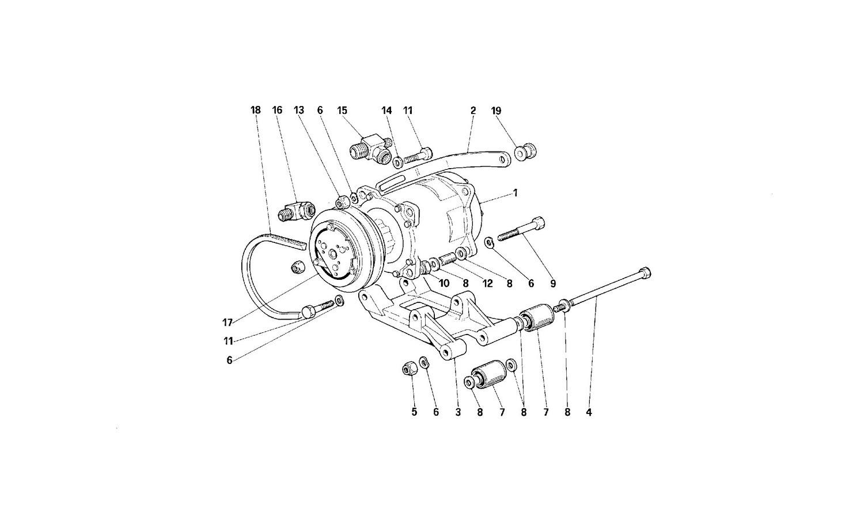 Air conditioned compressor