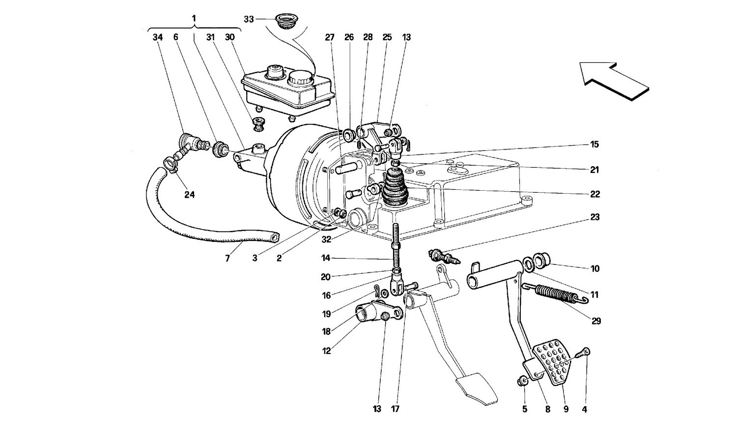 Brake hydraulic system -Not for GD-