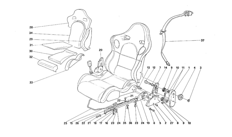 Sportive seat -Not for CDN-