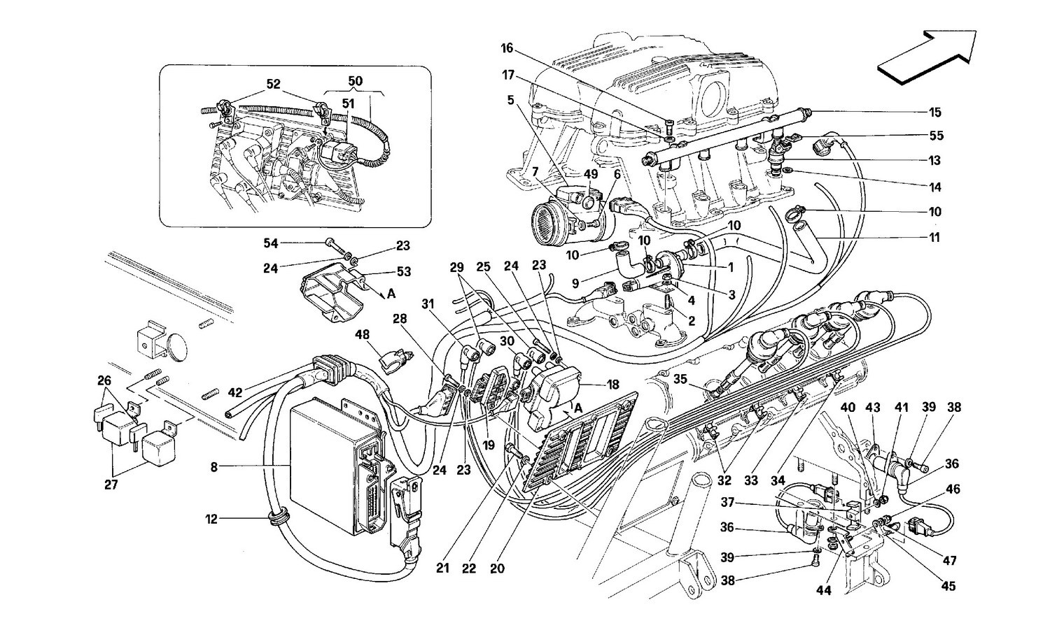 Air injection ignition -MOTRONIC 2.5-