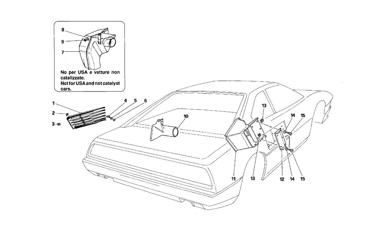 Air intake - Grills and frameworks