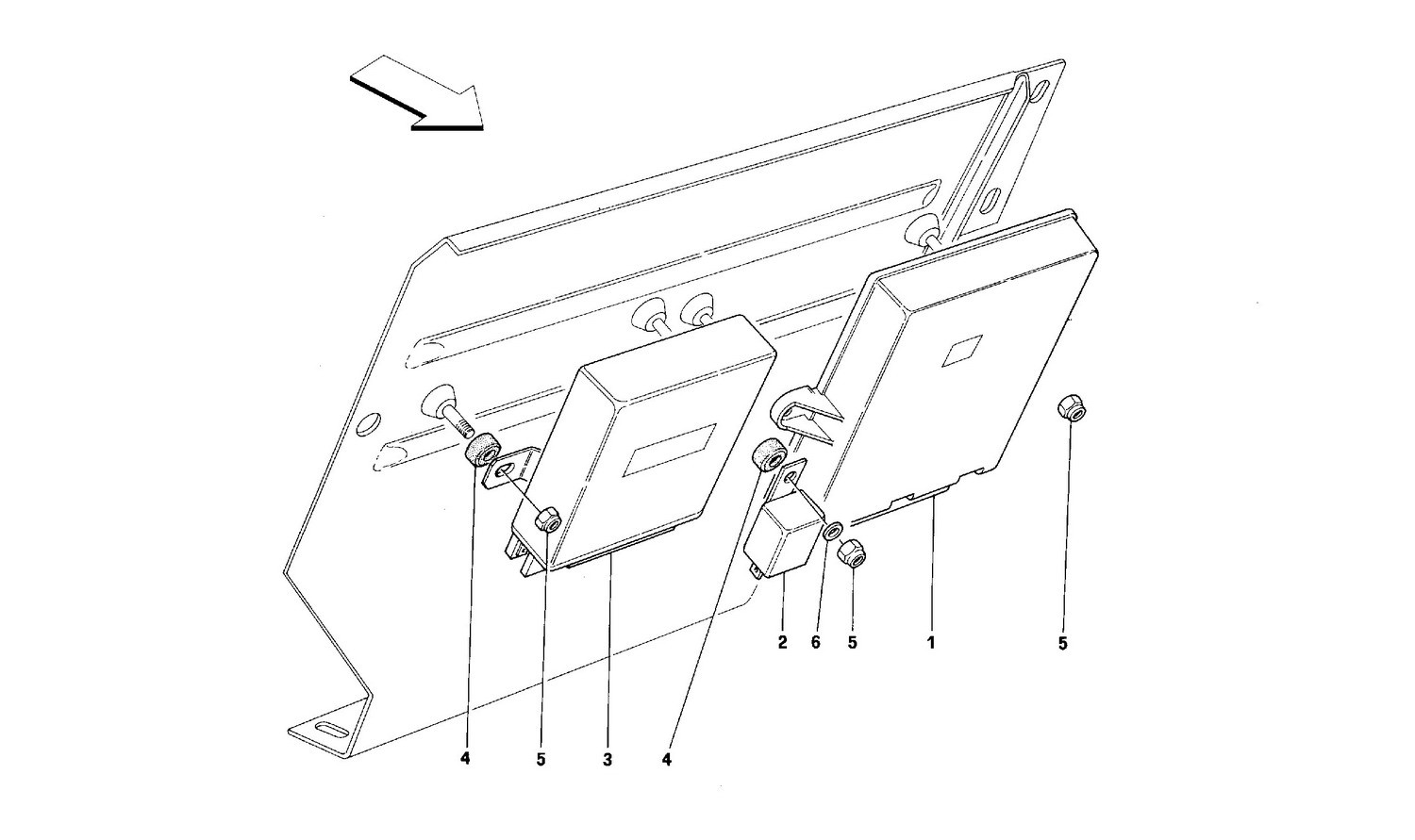 Switching units and devices for foot rest plate