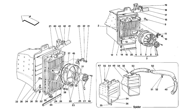 COOLING SYSTEM RADIATORS