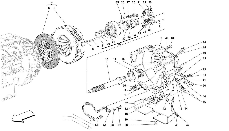 CLUTCH - CONTROLS -Not for 456 GTA-
