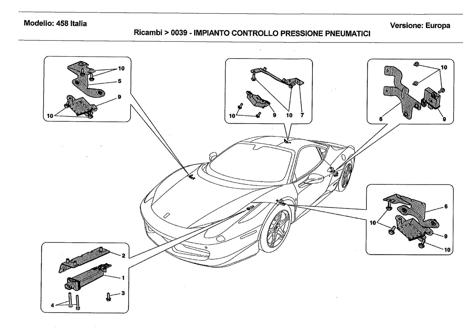 TYRES PRESSURE MONITORING SYSTEM